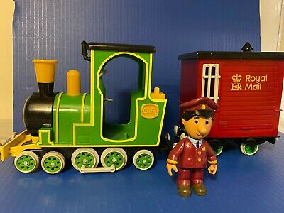 £14.99 • Buy Postman Pat Toy Friction Greendale Rocket Train With Royal Mail Wagon & Driver