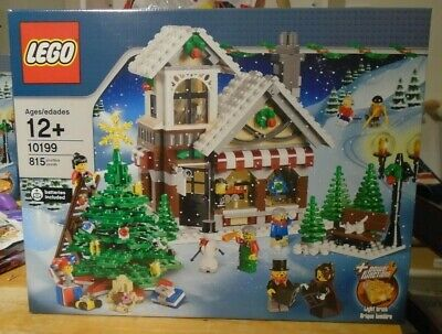 Lego 10199 Winter Village Toy Shop Brand New In Sealed Box • 199.99£