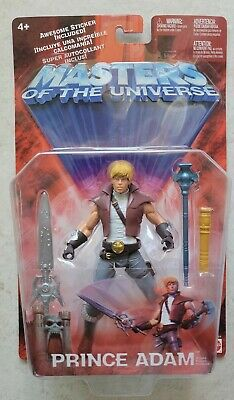 $24.99 • Buy NEW HE-MAN MASTERS OF THE UNIVERSE MOTU 200X PRINCE ADAM 2002 MATTEL FIGURE S191