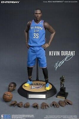 $799 • Buy 1/6 Real Masterpiece NBA Kevin Durant Oklahoma City Thunder Enterbay - RARE