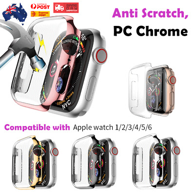 AU7.99 • Buy For Apple Watch Cover  IWatch 6 5 4 3 2 1 SE 44/40/42/38 Mm Case WATCH Protector