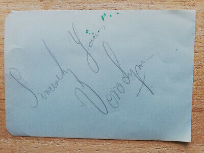 £12.95 • Buy Vera Lynn Forces Sweetheart Music Legend Hand-signed Vintage Autograph