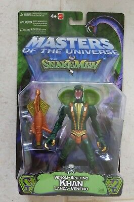 $49.99 • Buy NEW 200x MATTEL MASTERS OF THE UNIVERSE KHAN SPITS VENOM ACTION FIGURE! R33