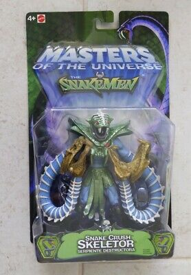 $29.99 • Buy NEW MOTU 200x SNAKEMEN SNAKE CRUSH SKELETOR MASTERS OF THE UNIVERSE HE-MAN! R33