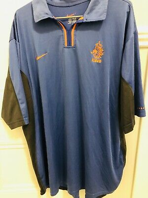 Holland / Dutch National Team 2000 / 02 Away Football Shirt Nike Adult L • 15£