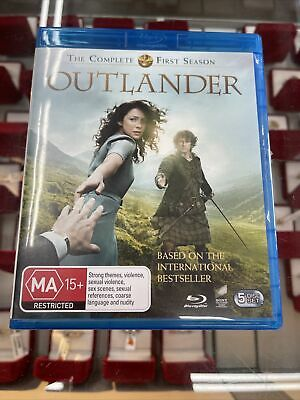 AU14.88 • Buy Outlander The Complete First Season Blu-ray