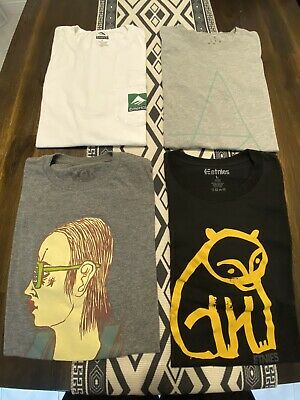 $ CDN42.46 • Buy Skateboard T Shirt Lot, Emerica, Altamont, Toy Machine, Supreme, Etnies, Baker