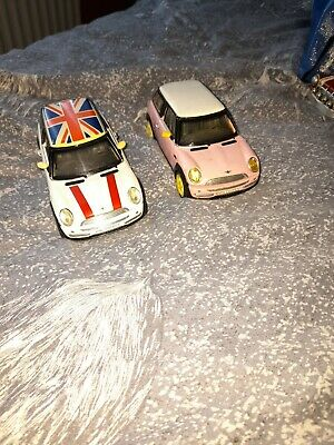 AU2.70 • Buy Bmw Mini Cooper 1/24 White And A Pink One