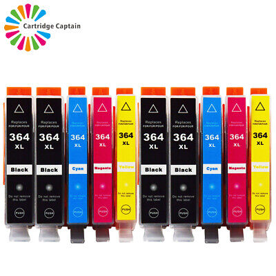 £8.98 • Buy 10 INK Compatible With Hp 364 XL Photosmart 5510 5515 5520 5524 C6380 Printer PC