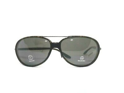 £75.73 • Buy Mercedes-Benz Sunglasses Men Made IN Italy Vintage Great Brown Zeiss Lens Wipes