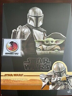 $ CDN479.34 • Buy Hot Toys Star Wars The Mandalorian And Child Deluxe TMS015 1/6 Sideshow Disney