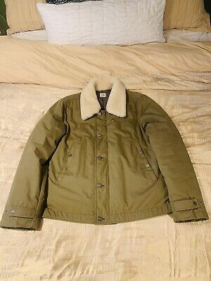 Very Rare CP Company / Stone Island Shearling Jacket 50/M/L - Bought In Milan • 185£