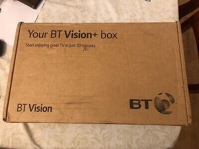 Bt Vision Plus+ Tv Box -never Used With Remote & Leads • 25£