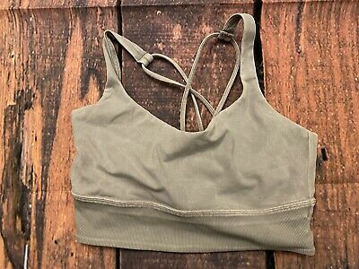 $ CDN52.49 • Buy Lululemon Solid Sports Bra Tan Beige Size 8
