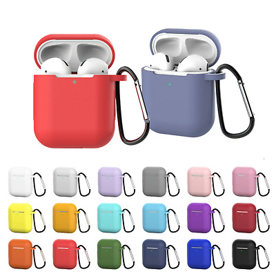 AU4.20 • Buy Apple Airpods 1 2 Pro Shockproof Silicon Gel Case Cover Wireless Charging Airpod