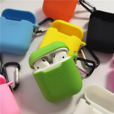 AU4.59 • Buy Protective Silicone Case Cover With Keychain For AirPods & AirPods Pro