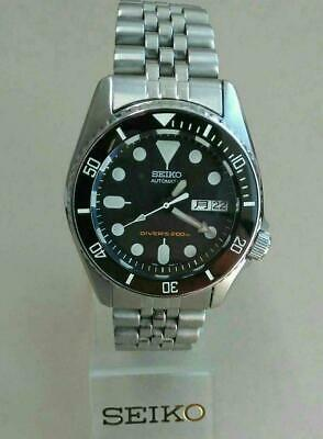 $ CDN992.51 • Buy Seiko Diver Modified SKX013 Day Date Mens Authentic Automatic Wristwatch Vintage
