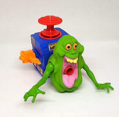 AU79.95 • Buy Real Ghostbusters Vintage GOOPER GREEN GHOST Figure W/ Plunger 1988 Kenner