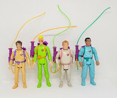 AU119.95 • Buy Real Ghostbusters Vintage SLIMED HEROES Figure Lot W/ Proton Packs 1990 Kenner