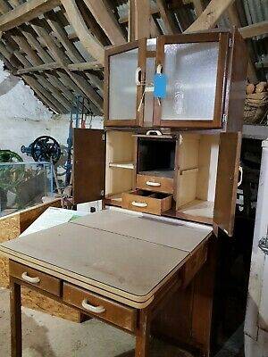 1950s Vintage Retro Larder Cabinet / Dresser / Kitchen Furniture For Upcycling • 87£
