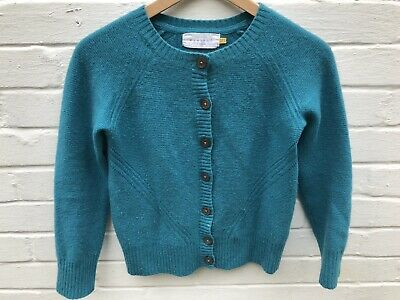 AU36.06 • Buy John Lewis Weekend Ladies Cashmere Cardigan Size 10 Turquoise Button Up