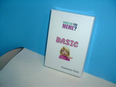 AU16.99 • Buy What Do You Meme? Basic Expansion Pack Unopened