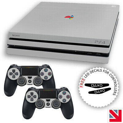 AU17.51 • Buy 20th Anniversary Style PS4 PRO Skin Decal Vinyl Sticker Wrap