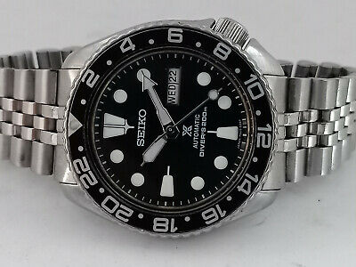 $ CDN25.73 • Buy Seiko Diver 6309-729a Black Prospex Automatic Mens Watch 810789