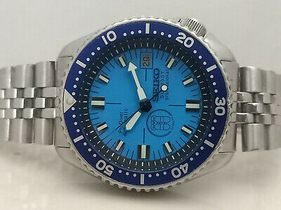 $ CDN36.24 • Buy Prodiver Blue Modded Seiko Diver 7002-7001 Automatic Men's Watch 364255