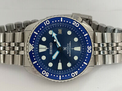 $ CDN45.19 • Buy Vintage Blue Prospex Modded Seiko Diver 7002-7000 Automatic Men's Watch 491150