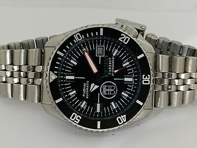 $ CDN84.11 • Buy Prodiver Black Modded Seiko Diver 7002-7000 Automatic Men's Watch 180130