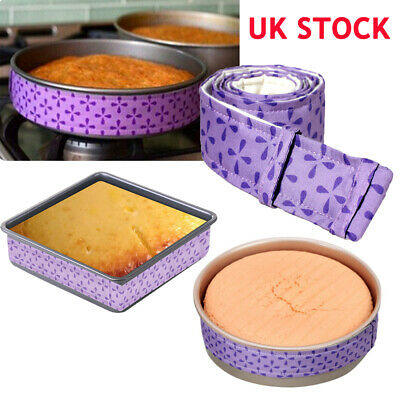 Wilton Bake-Even Strips Belt Bake Even Bake Moist Level Cake Baking Tool DIY UK • 3.43£