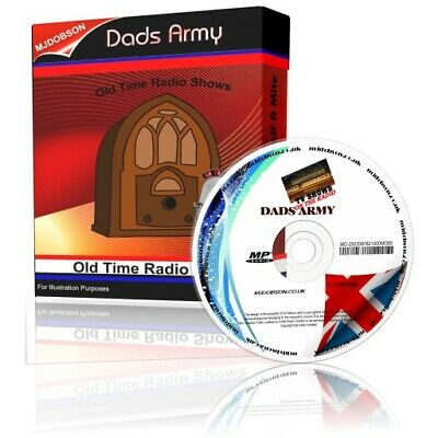 £3.95 • Buy Dad's Army Radio Show On Cd - Old Time Radio - Complete Episodes Audio Mp3