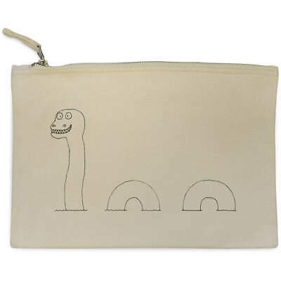 £9.99 • Buy 'Loch Ness Monster' Canvas Clutch Bag / Accessory Case (CL00006867)