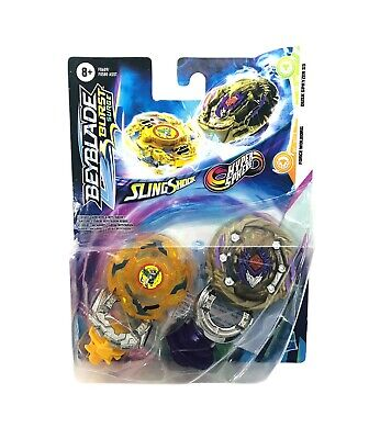 £21.24 • Buy Beyblade Burst SURGE Dual Collection FORCE WOLBORG And DUSK SPRYZEN S5 NEW