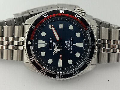 $ CDN232.24 • Buy Vintage Dark Blue Padi Modded Seiko Diver 7002-7000 Automatic Men's Watch 630204