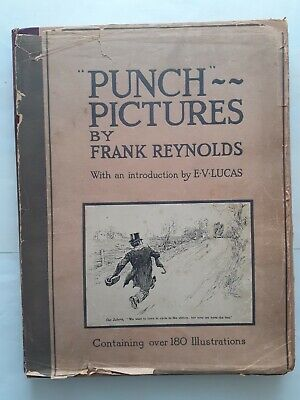 Punch Pictures Book 1922, Frank Reynolds • 1.99£