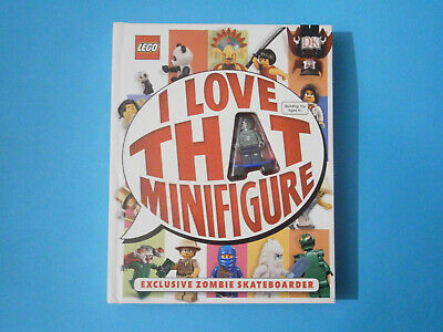 Lego Book   I Love That Minifigure   With Zombie Skateboarder Minifigure. Unused • 8.50£