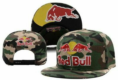 £29.99 • Buy Red Bull Snapback Cap Army Camouflage Unisex Adults Adjustable
