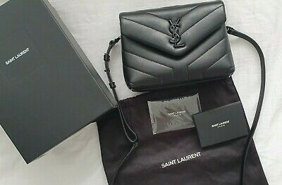 AU1436.54 • Buy Saint Laurent YSL Lou Lou Toy Crossbody Black Bag