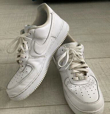 AU36 • Buy Nike Air Force 1 White Trainers Men's Uk10