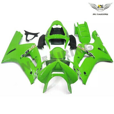 $539.99 • Buy CO Fairing Fit For Kawasaki 2003 2004 636 ZX6R Injection ABS Glossy Green M022