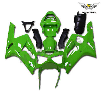 $539.99 • Buy CO Fairing Kit Fit For Kawasaki 2003 2004 636 ZX6R Injection Glossy Green M017