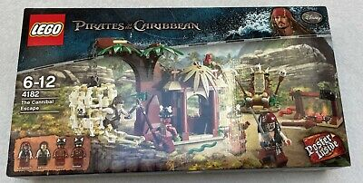 £85 • Buy NEW LEGO 4182 - Pirates Of The Caribbean: The Cannibal Escape
