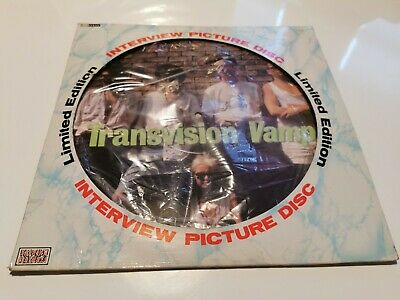 Transvision Vamp Interview Picture Disc 12inch Picture Disc Vinyl/record • 10£