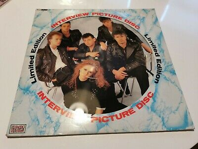 T Pau Interview Picture Disc. 12inch Picture Disc Vinyl/record • 5£