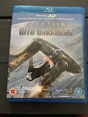 AU7.20 • Buy Star Trek Into Darkness (Blu-ray 3D  And 2D Blu Ray Combo, 2013, 2-Disc Set