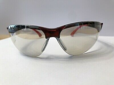 £8.95 • Buy Infield Terminator Safety Glasses Tinted Lens Red And Black Frame New Unused