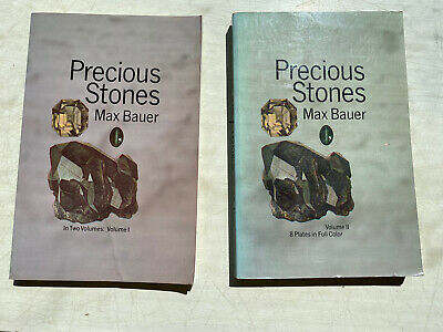 AU14.42 • Buy Dover Jewelry And Metalwork: Precious Stones Vol. 1 & 2 By Max Bauer (1968,...
