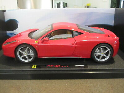 1:18 Hot Wheels Elite Ferrari 458 Italia Red  • 293.92£